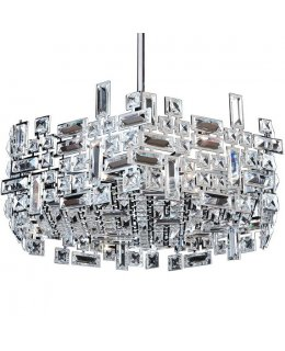 Allegri Lighting 11197-010-FR001 Vermeer Hexagonal Pendant