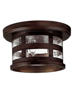 Capital Lighting  9956BB  Mission Hills Outdoor Flush Ceiling Mount