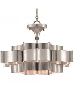 Currey & Company  9000-0374-CC  Grand Lotus Convertible Ceiling