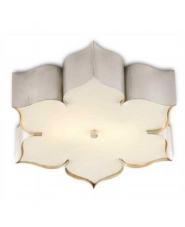 Currey & Company  9999-0042-CC  Grand Lotus Flush Ceiling