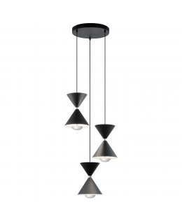 Elan Lighting  ELA-84114  Kordon LED Multi Light Pendant
