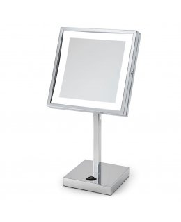Electric Mirror EM88-SIL-CH  Elixir Countertop Lighted Makeup Mirror