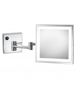 Electric Mirror  EMHL88-SIL-CH   Elixir Wall Mounted Lighted Makeup Mirror