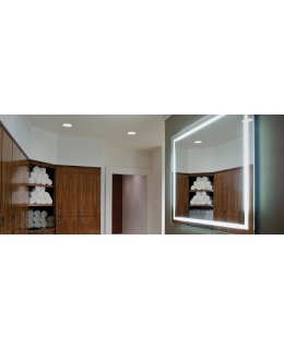 Electric Mirror INT-4836  48 INCH INTEGRITY Rectangle Lighted Mirror