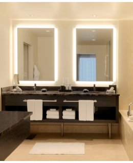Electric Mirror SIL-2436 24 INCH SILHOUETTE Rectangle Lighted Mirror