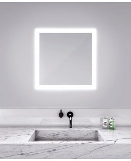 Electric Mirror SIL-3030  30 INCH SILHOUETTE Square Lighted Mirror