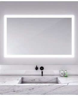 Electric Mirror SIL-6036 60 INCH SILHOUETTE Rectangle Lighted Mirror