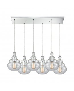 Elk  10562-6RC  Tabor Linear Pendant 6 Light