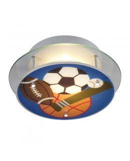 Elk  21005-2 Sports Novelty  Semi Flush Mount Ceiling Fixture