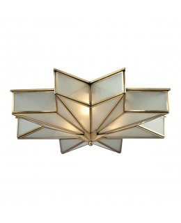 Elk  22011-3 Decostar Flush Mount Ceiling Fixture