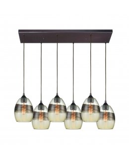 Elk  25122-6RC  Whisp Linear Pendant 6 Light