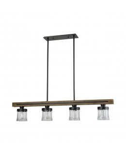 Elk  33071-4  Timberwood Linear Pendant 4 Light