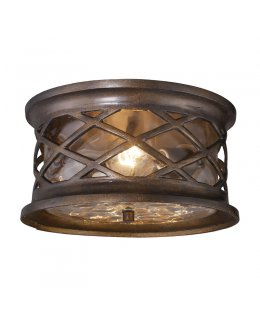 Elk 42037-2  Barrington Gate Outdoor Ceiling Fixture