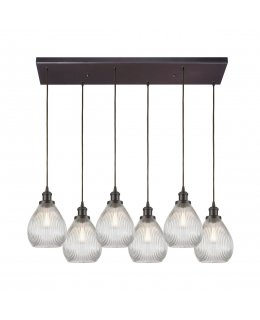 Elk  56582-6RC  Jackson Linear Pendant 6 Light