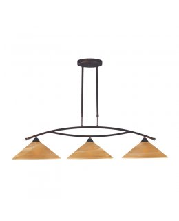 Elk  6502-3  Elysburg Linear Pendant 3 Light