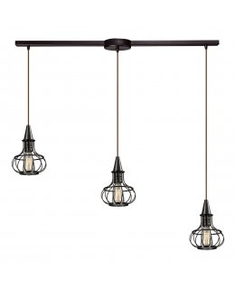 Elk  14191-3L  Yardley Vintage Linear Pendant 3 Light