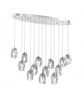 Eurofase 29090-013 Diffi 13 Light Oval Pendant