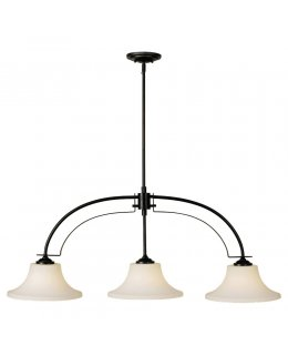 Feiss  F2248-3ORB  Barrington 3 Light Island Linear Pendant