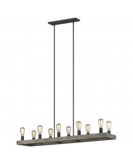 Feiss  F3931-10WOW-AF  Avenir Linear Chandelier