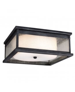 Feiss  OL11113DWZ  Pediment Outdoor Flush Mount Ceiling