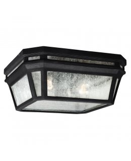 Feiss  OL11313BK   Londontowne Outdoor Flush Mount Ceiling
