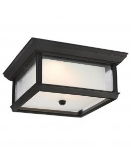 Feiss  OL12813TXB-L1   McHenry Outdoor Flush Mount Ceiling