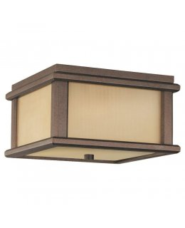 Feiss  Mission Lodge Outdoor Ceiling Flush Mount Fixture