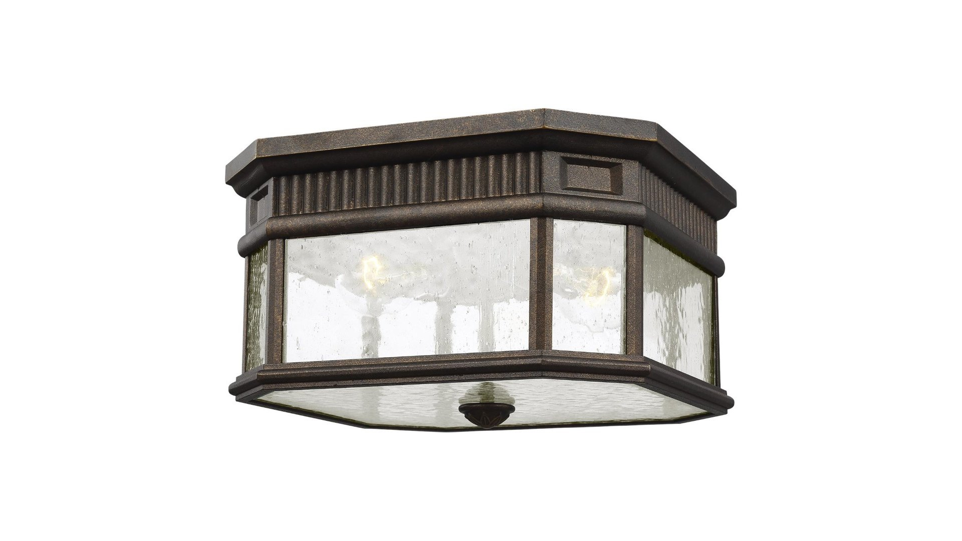 Feiss ol5433gbz cotswold outdoor flush mount ceiling