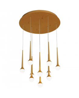 George Kovacs P8229-668-L  Honey Drip Multi Light Pendant