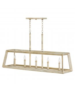 Hinkley  3105SL Tinsley Linear Chandelier