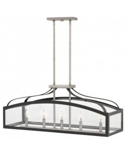 Hinkley  3416DZ Clarendon Linear Chandelier