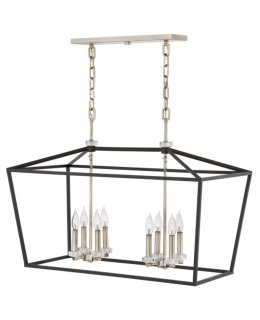 Hinkley  3534BK  Stinson Linear Chandelier