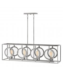 Hinkley 3926PL  Fulham Linear Chandelier
