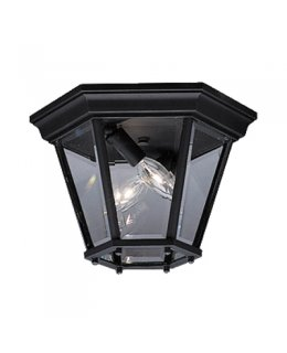 Kichler  9850BK  Madison Outdoor Ceiling Light