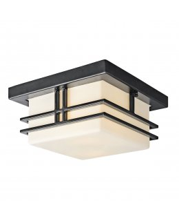 Kichler  49206BK  Tremillo Outdoor Ceiling Light