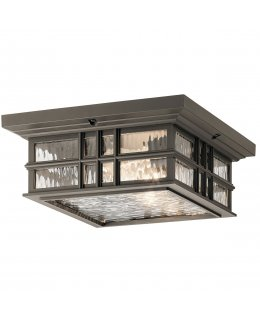 Kichler  49834OZ  Beacon Square Outdoor Ceiling Light