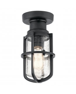 Kichler  49861BKT Suri Outdoor Ceiling Light