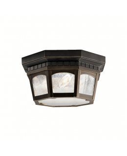 Kichler  9538RZ Courtyard Outdoor Ceiling Light