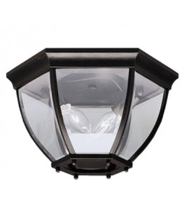 Kichler  9886BK  Barrie Outdoor Ceiling Light