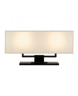 Sonneman A Way of Light Model  3312.51 Hanover Banquette Table Lamp Black-Brass Finish