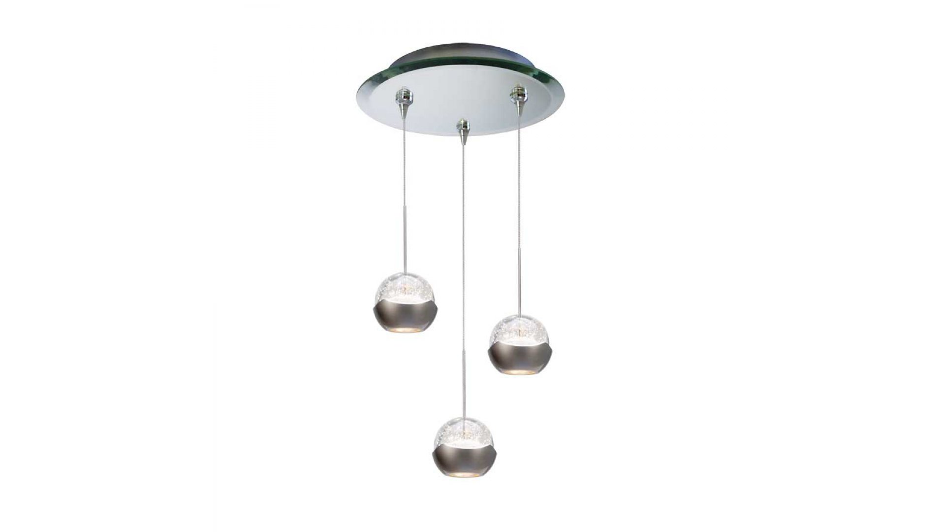 Wac Lighting Qmp Led311 3 Mr Genesis Led Multi Light Pendant