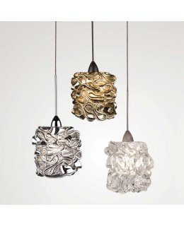 WAC Lighting  QP-LED544-CL-CH  QP Candy LED FreeJack Pendant