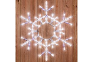 LED Snowflakes and Stars