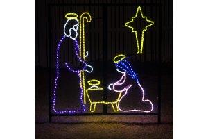 LED Christmas Yard Art