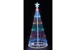 LED Lightshow Christmas Trees