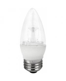 TCP5E26B1127K E26 Base 40W EQ Clear Blunt Tip Chandelier Bulb