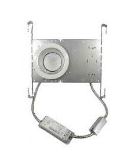 "MXRCF42330W  4"" LED Ceiling Grid Downlight Fixture 23W 3000K 1635 Lumens"