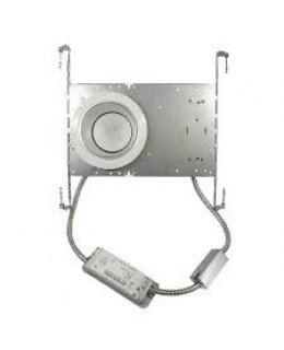 "MXRCF62330W  6"" LED Ceiling Grid Downlight Fixture 23W 3000K 1725 Lumens"