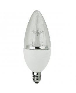 TCP5E12B1127K E12 Base 40W EQ Clear Blunt Tip Chandelier Bulb
