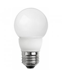 TCP4E26G1627KF E26 Base 25W EQ Frosted Globe Chandelier Bulb